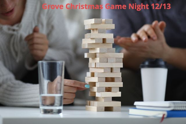 Grove Youth Game Night 12/13